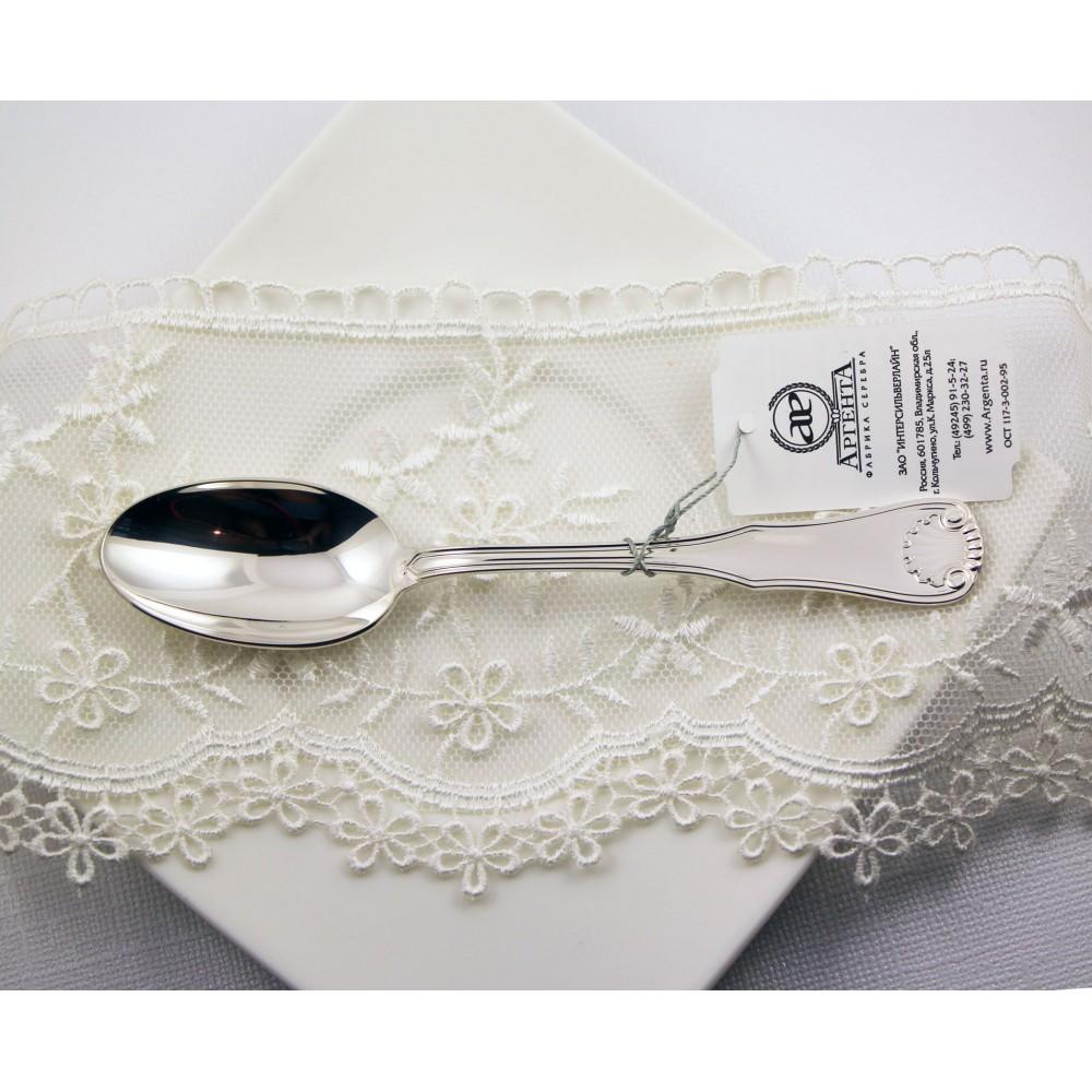 Ложка серебряная чайная Визит