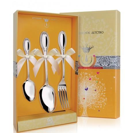 Серебряный набор Император из 3 предметов