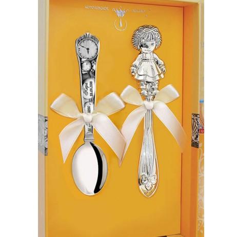 Набор серебряный Кукла