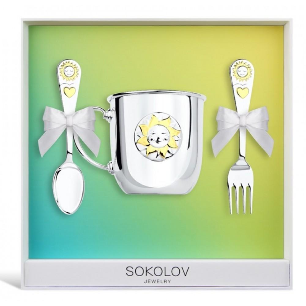 Детский набор с кружкой sokolov