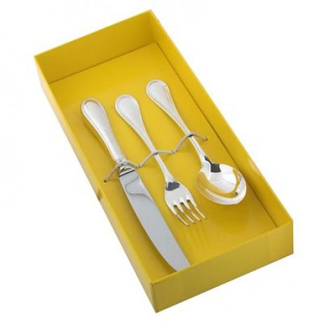 Детский набор Английский с ложкой, вилкой, ножом